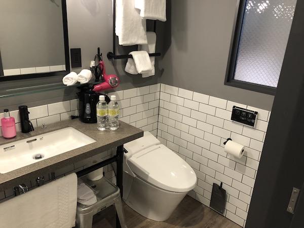 モクシー大阪トイレ