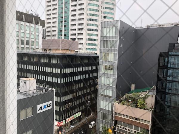 モクシー大阪の眺め