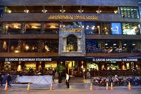 バンコクの高級ステーキハウスエルガウチョでランチ。ハンバーガーがでかすぎた件【アソーク】