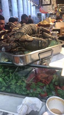 ボケリオ市場の海鮮