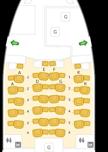 アシアナ777座席表